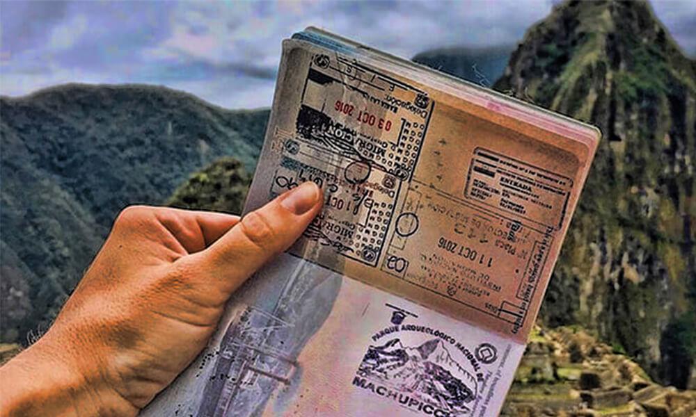 Boleto de ingreso a Machu Picchu