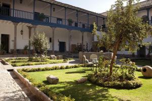 Belmond Palacio Nazarenas Patio