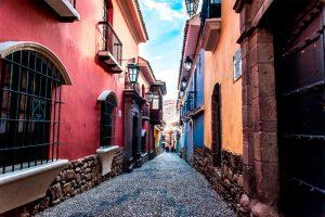 Calles de la Paz Bolivia