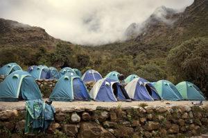 Camino Inca Campamento