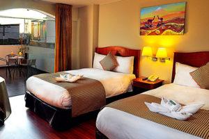 Casona Plaza Hotel aqp Habitación