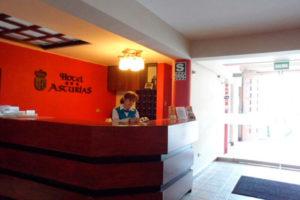 Hotel Asturias Recepción