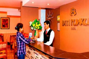 Hotel Inti Punku Alameda Recepción