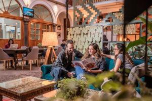Hotel Selina Cusco Plaza de Armas Lobby