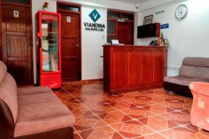 Hotel Viandina Recepción