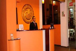 Intiqa Hotel Recepción