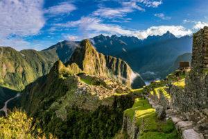 Arribo a Machu Picchu