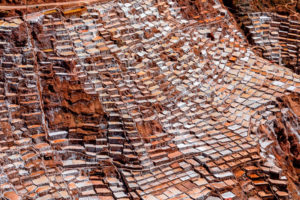 Pozas de sal en Maras