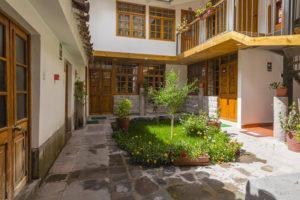 Moaf Cusco Hotel Patio