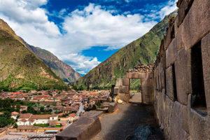 Ruinas incas Ollantaytambo