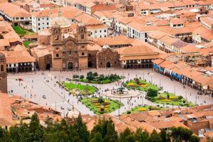 Plaza de Armas del Cusco, vista panorámica