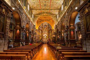 La iglesia de San Francisco - Quito Ecuador