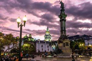 Plaza Independencia Quito Ecuador