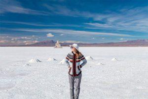 Vista del Salar de Uyuni Bolivia