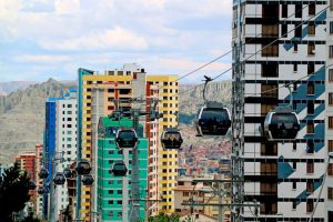 Teleféricos en la Paz Bolivia