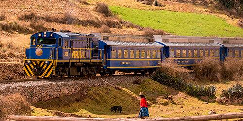 Portada del Tour en Tren PeruRail Expedition