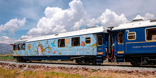 Portada del Tour en Tren PeruRail Hiram Bingham