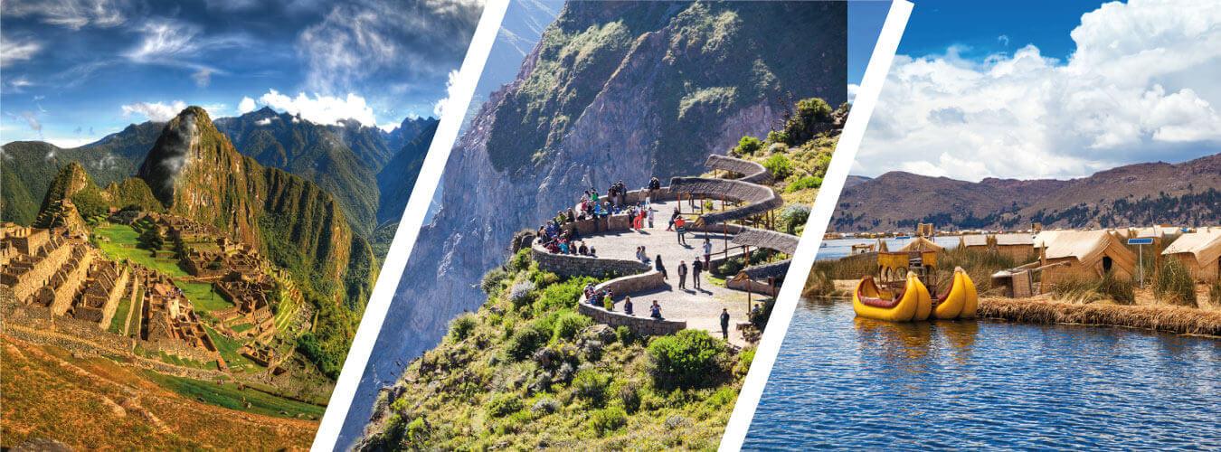 Tour Lima - Cañón del Colca - Puno - Cusco - Machu Picchu