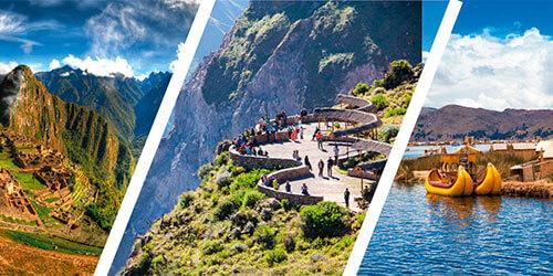 Portada del Tour Líneas de Nazca Titicaca y Machu Picchu
