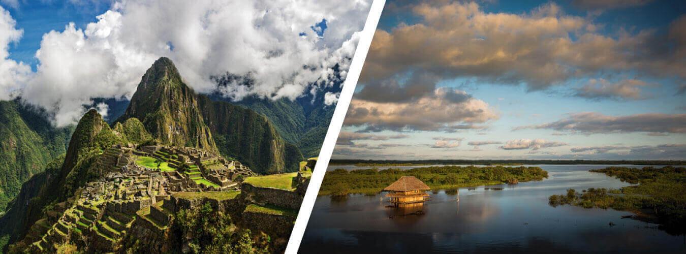 Tour a Machu Picchu y el Amazonas