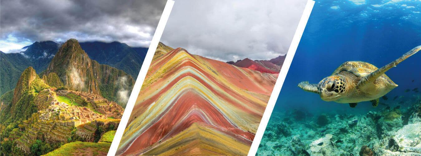 Paquete en Sudamérica Perú y Ecuador , Machu Picchu y Galápagos