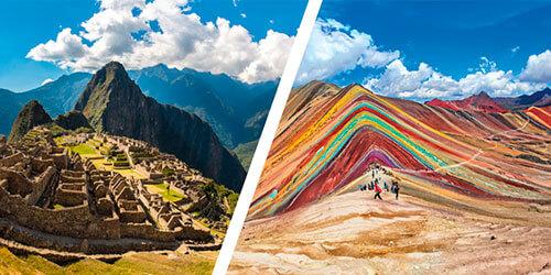 Portada del Tour Machu Picchu y Montaña de Colores