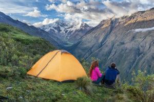 Acampando Trekking a Salkantay