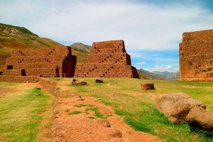 Ruinas en el Valle Sur