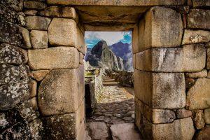 Ventana en Machu Picchu