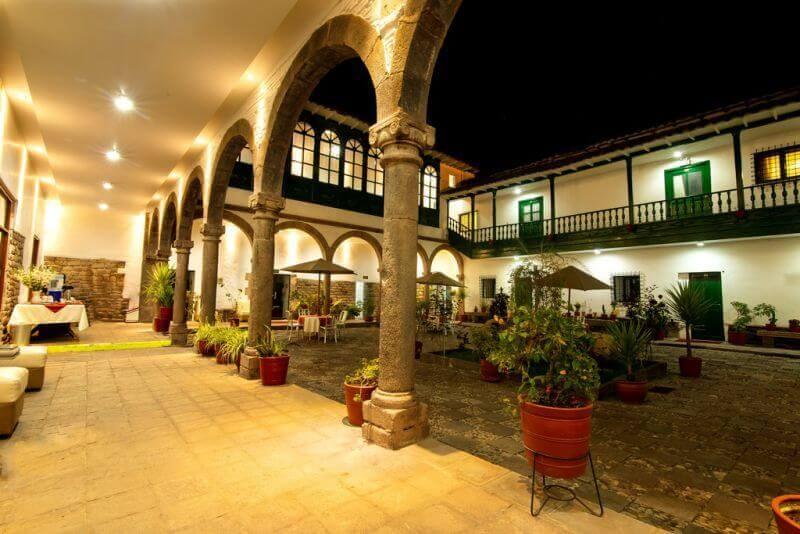 Hotel Garcilaso II Patio