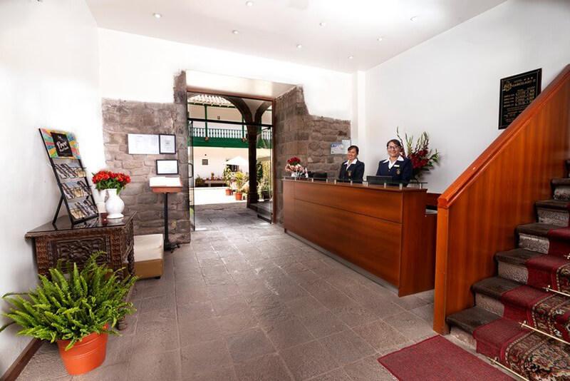 Hotel Garcilaso II Recepción