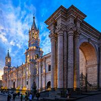 Plaza de Armas Arequipa, Peru