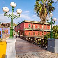 Distrito turístico de Barranco, City tour Lima, Puente de los ssuspiros, Chabuca Granda, barrio bohemio, Perú