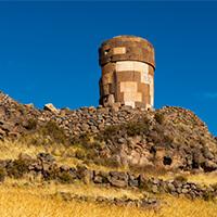 Tour en Sillustani , Lago Titicaca y Sillustani , Viaje a Sillustani Puno